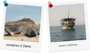 boutres en mer d'Arabie