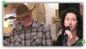 Craig Johnson et traductrice
