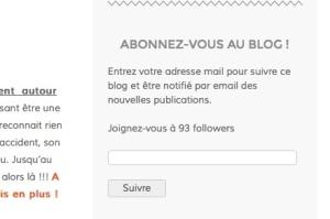 suivre le blog