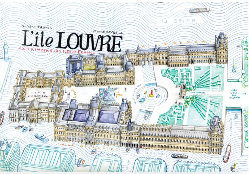 L'île Louvre 3