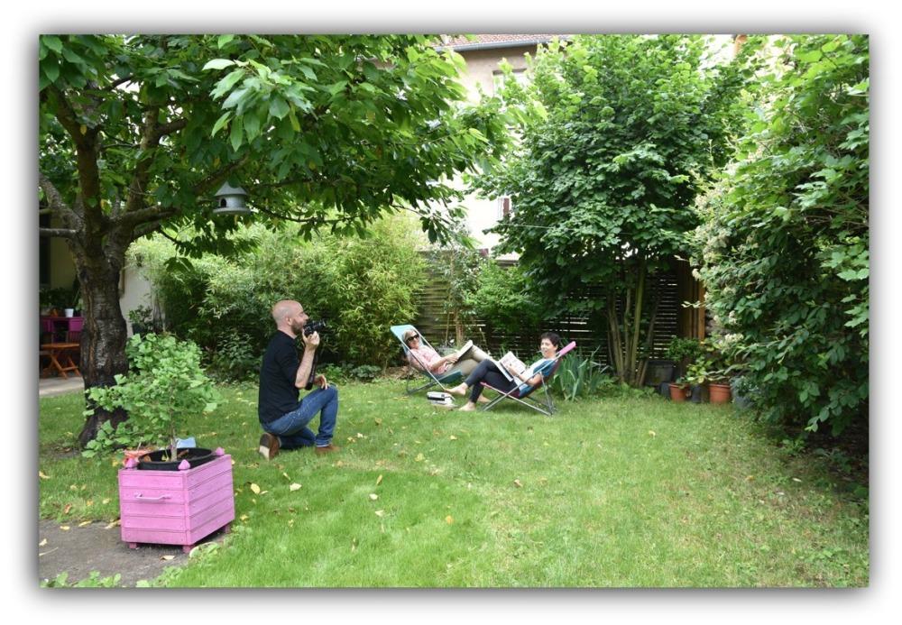lecture au jardi